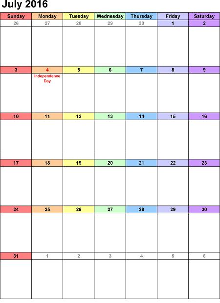 ... Calendar landscape/ A4 / Portrait | Printable Calendar Templates