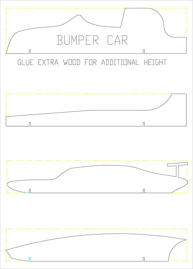 25 pinewood derby templates for cars design printable for Free pinewood derby car templates