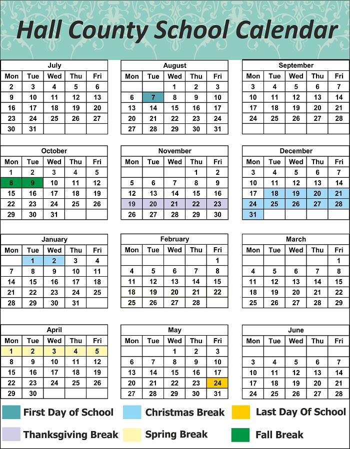 Hamilton County School Holidays