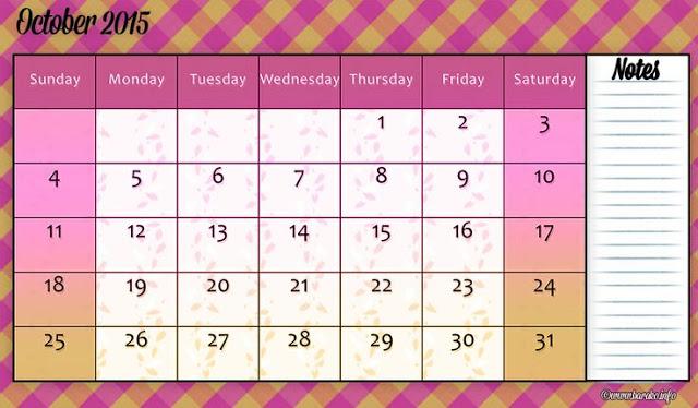2015 Blank Printable Calendar templates Editable | Printable Calendar ...