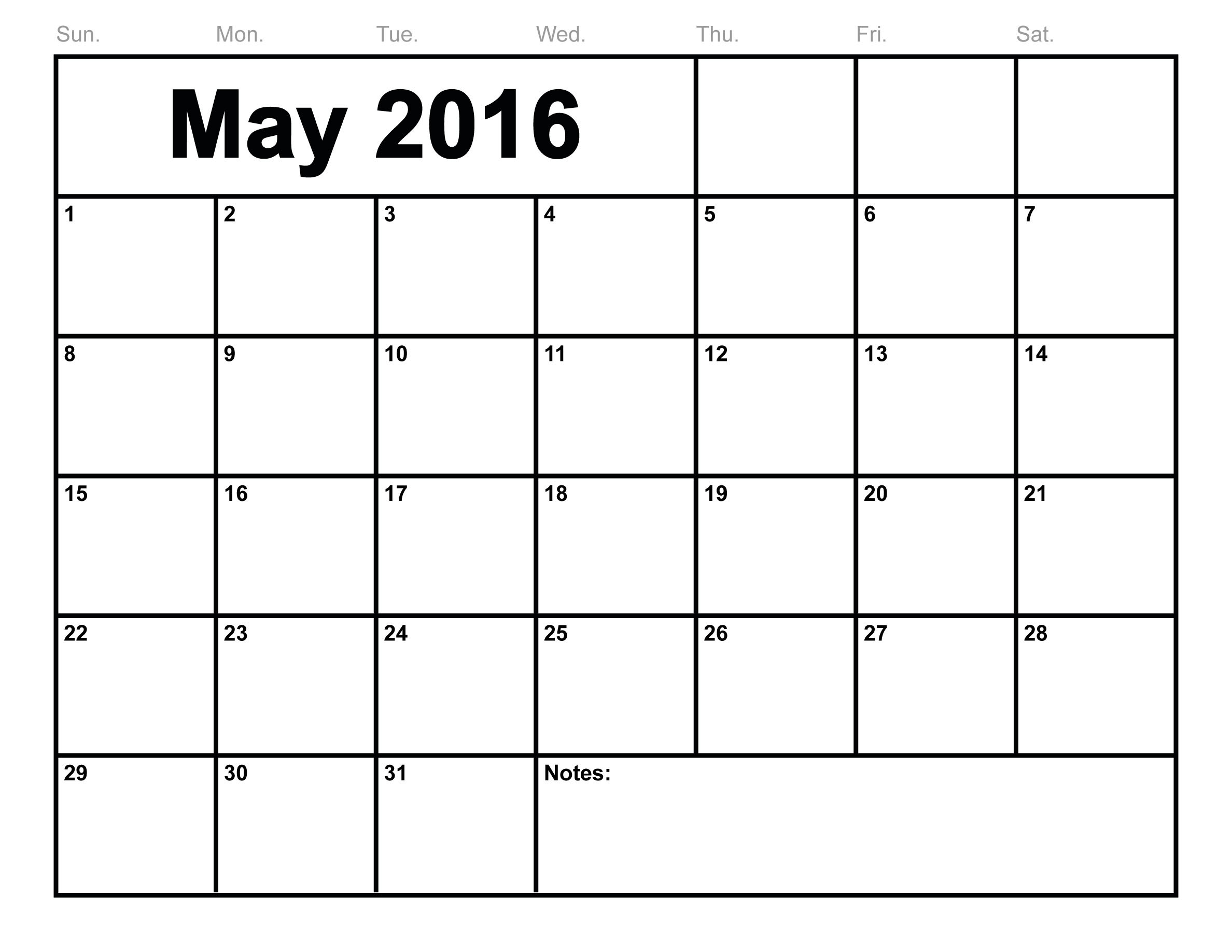 Calendar May : May printable calendar templates