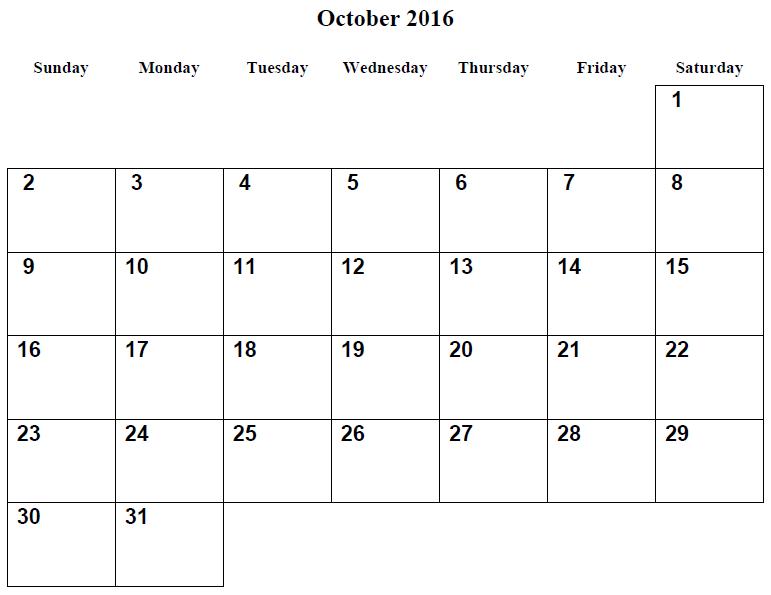 december 2016 calendar printable template