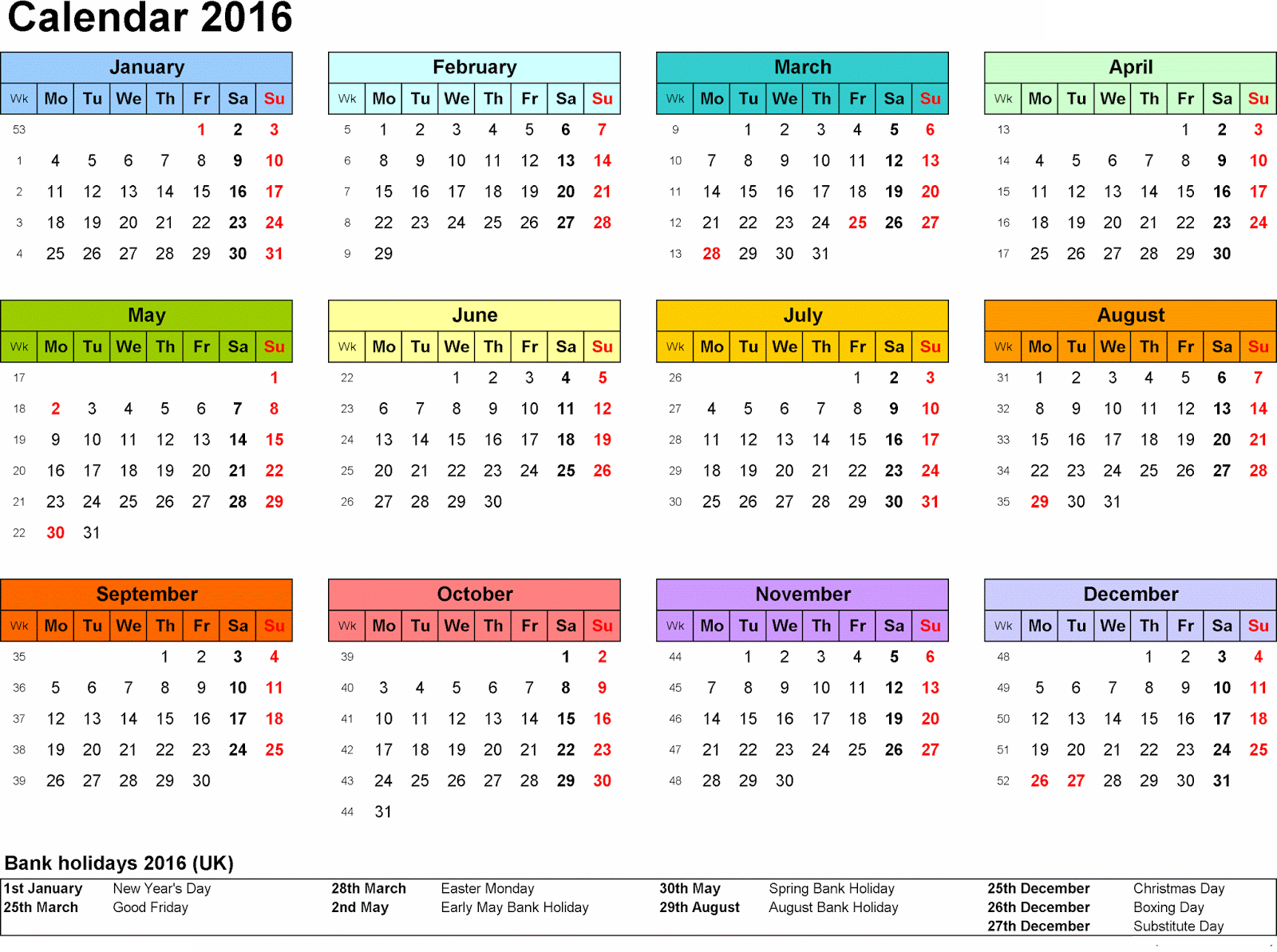 Calendar Templates With Holidays : Printable calendars related keywords