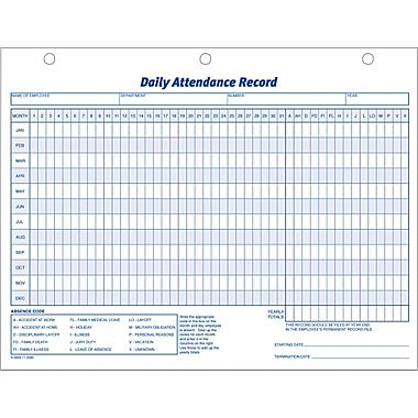 Attendance Sheet For Employees Excel   Printable Calendar