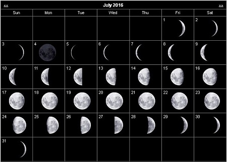 Lunar Moon Calendar 2016 Related Keywords & Suggestions - Lunar Moon ...