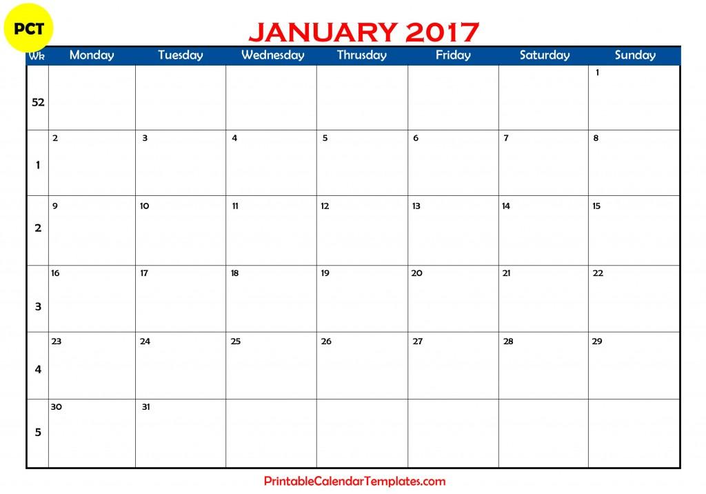 january 2017 calendar, january calendar 2017, january 2017 printable calendar, january 2017 calendar printable, january 2017 blank calendar