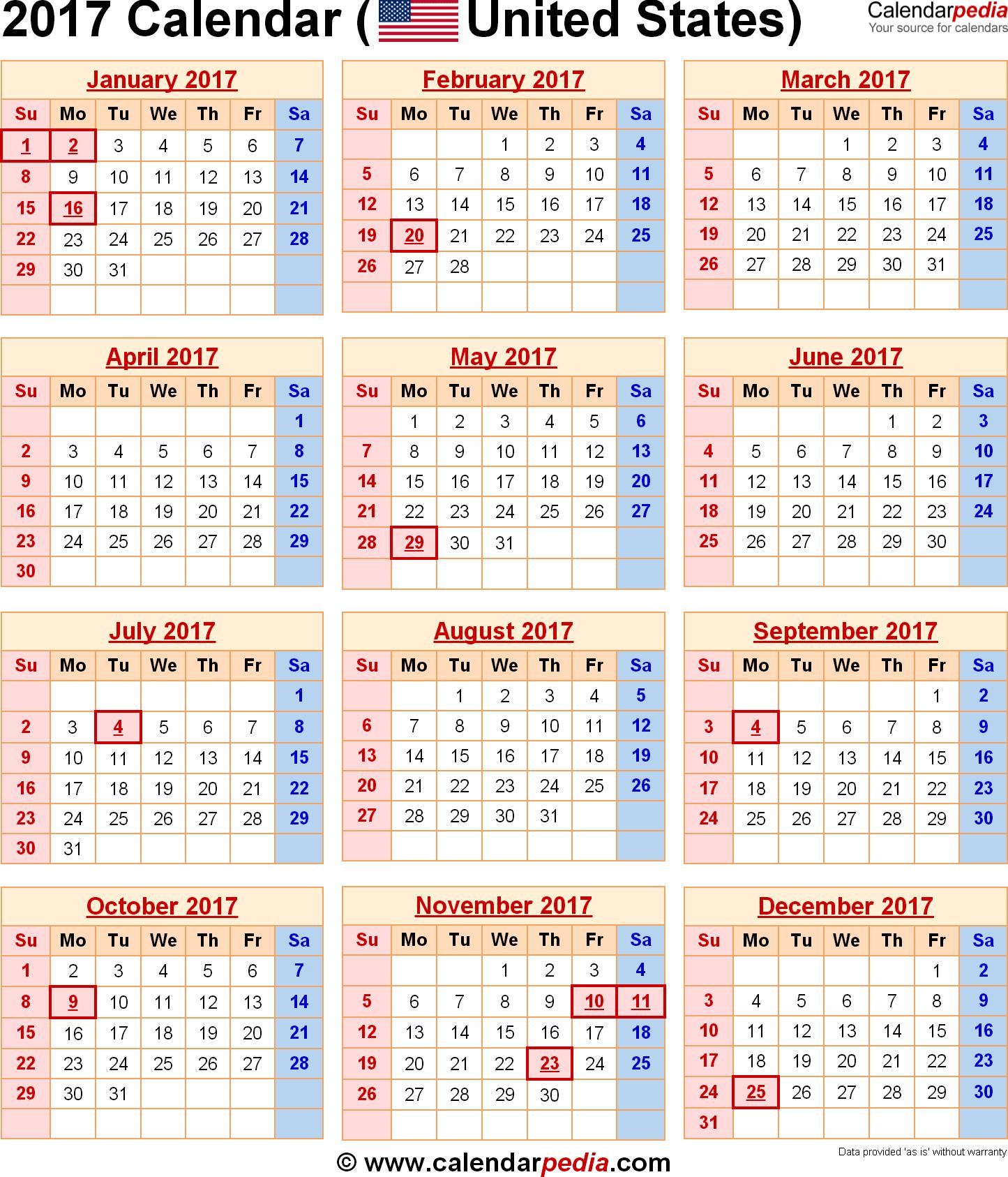 Calendar Holidays List : Usa holiday list printable calendar templates