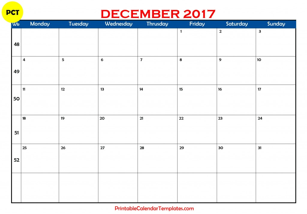 December 2017 calendar, december calendar 2017, december 2017 calendar printable, december 2017 printable calendar, December 2017 calendar with holidays