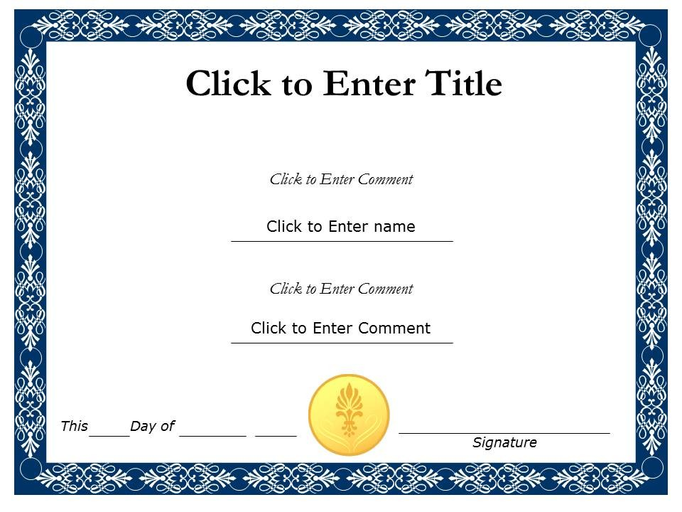 length of service certificate template - award certificate template printable calendar templates