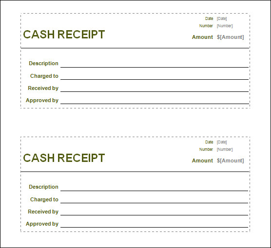 Sizzling image for printable cash receipt