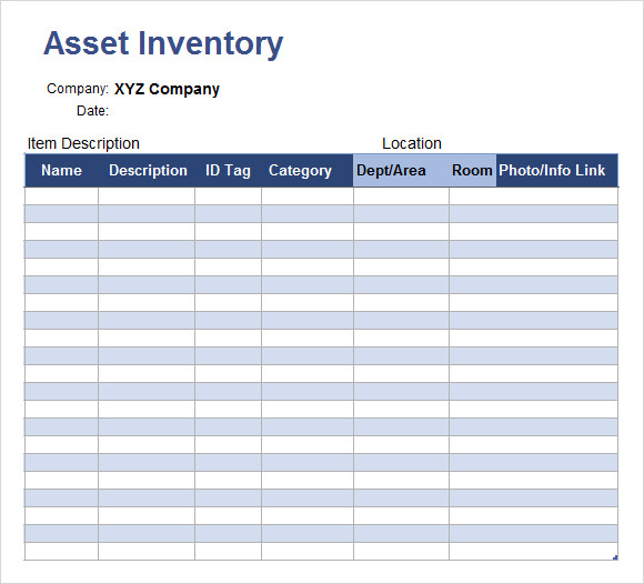 Asset-Tracking-Template