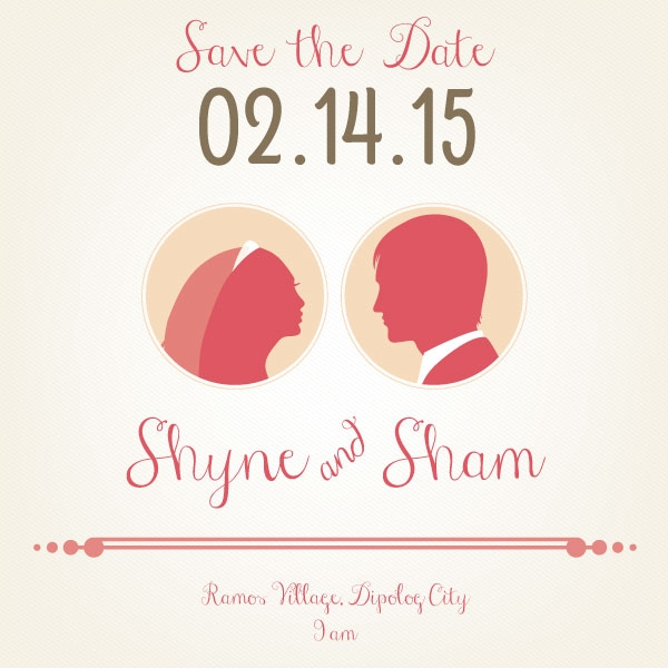 Save-the-Date-Wedding-Template