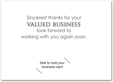 Thank you cards greeting cards templates for business for Thank you card for business