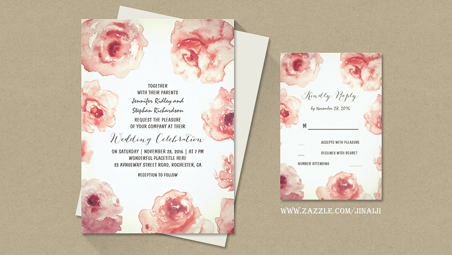 burgundy-red-blush-roses-watercolor-floral-wedding-invitation