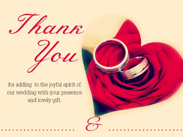 Thank you cards – Printable Wedding Thank You Cards