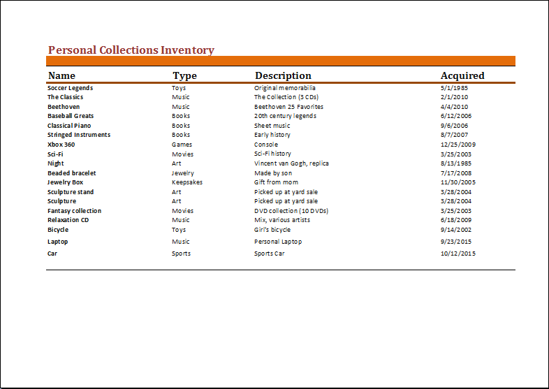 personal-inventory-sheet