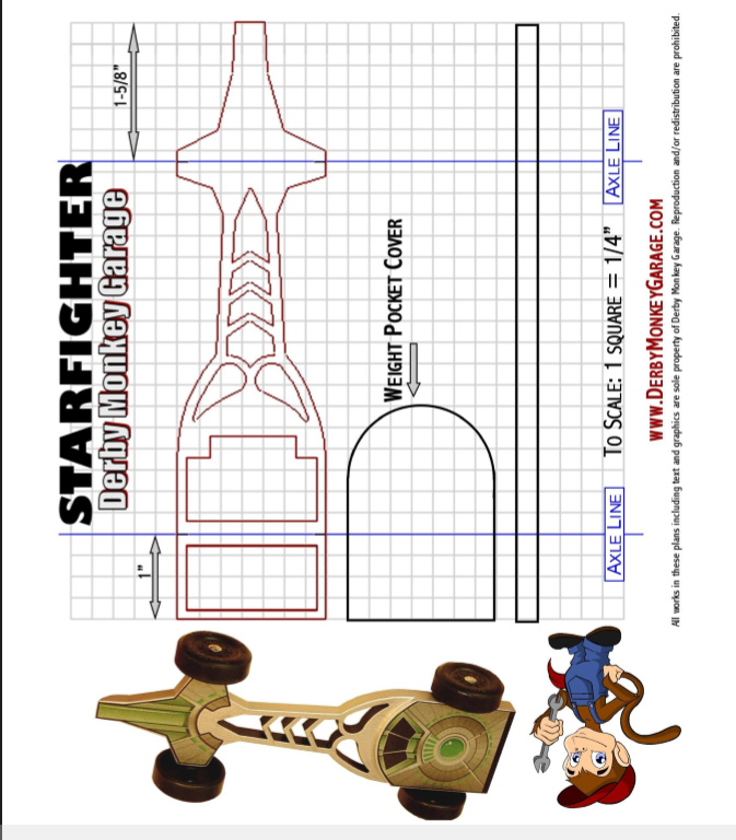 It is an image of Critical Pinewood Derby Printable Templates