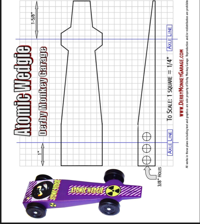 25 pinewood derby templates for cars design printable for Free pinewood derby car templates download