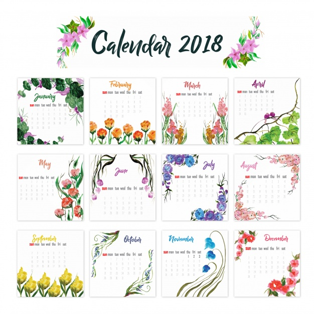 thus these are some of the types of the printable calendars that are being generally required by the people in performing their tasks well