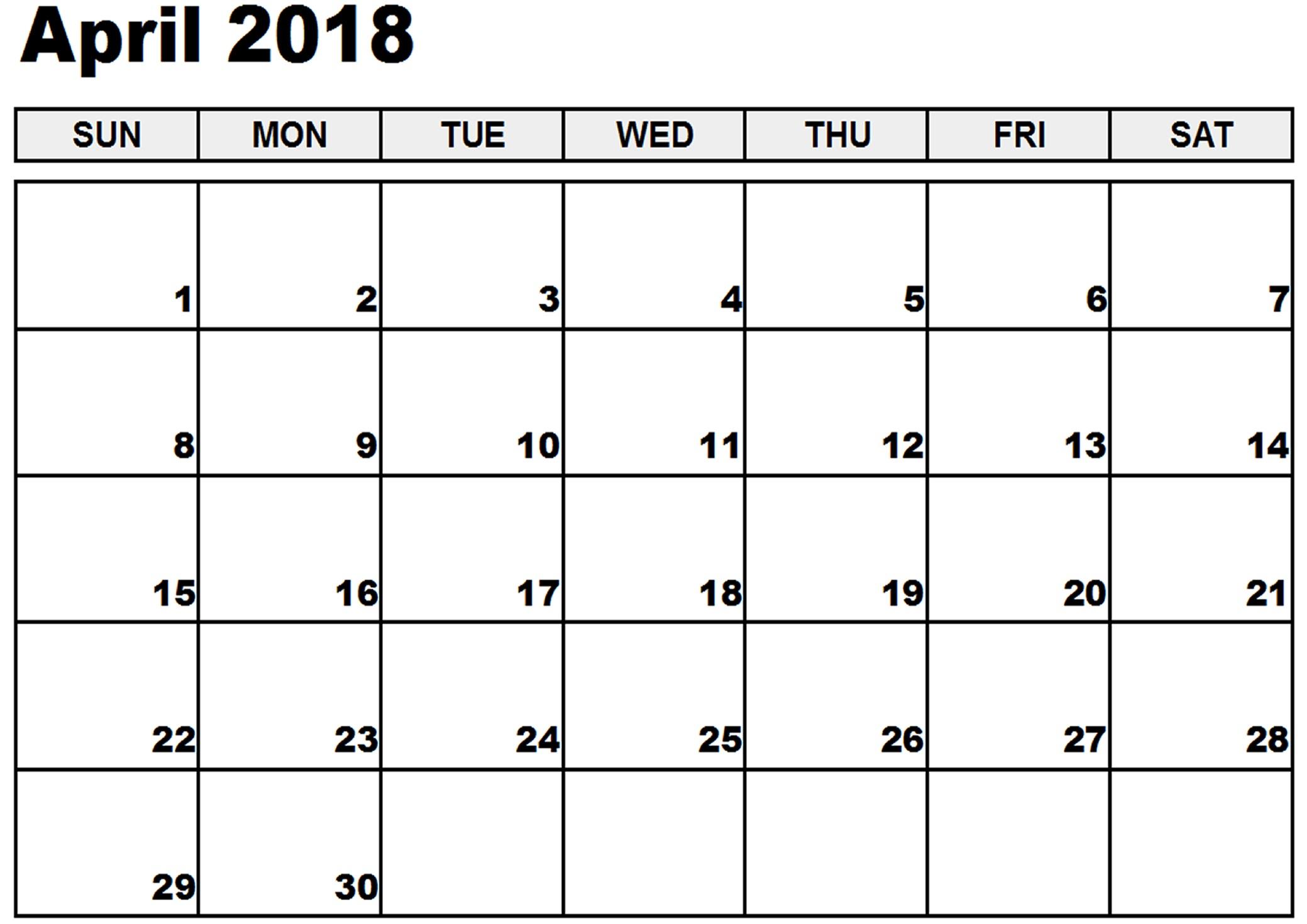 april-2018-calendar-word-1