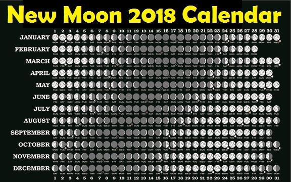 November Full Moon Calendar