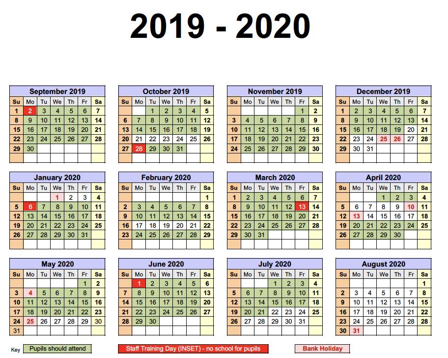 Get Free Tasmania School Holidays 2019 Calendar