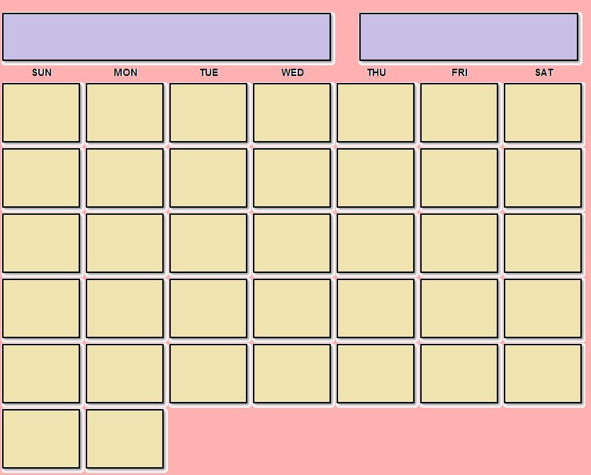 Undated Planner PDF
