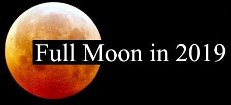 Full Moon 2019