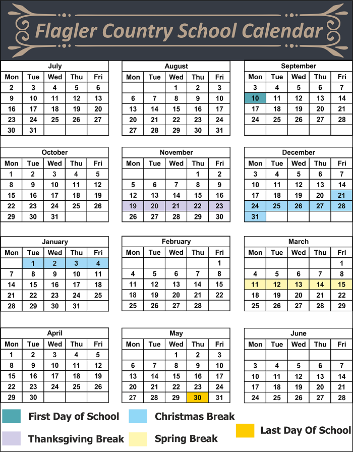 Flagler County School Holidays