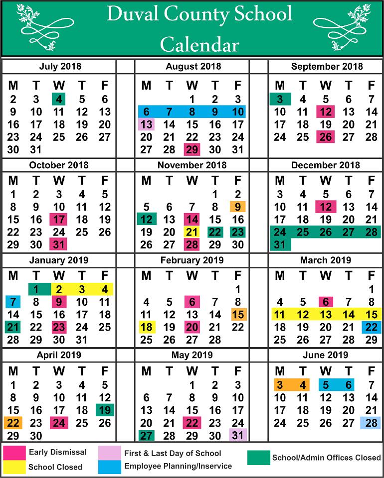 DuvalCounty School Holidays